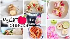Snack Ideen - easy healthy snack ideas fitnessfriday