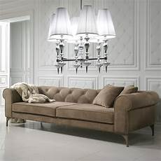 Modern Italian Nubuck Leather Designer Sofa Juliettes