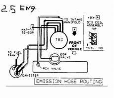 Solved 1986 Fiero 2 8l Vacuum Line Diagram Fixya