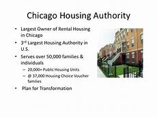 chicago housing authority plan for transformation enterprise systems real world perspective