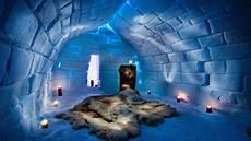 Iglu Hotel Finnland - movers move glass igloo hotels finland