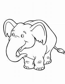 ausmalbilder elefant hase kinder ausmalbilder