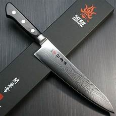 japanese kitchen knives uk japanese kanetsune seki damascus vg10 chef knife gyuto