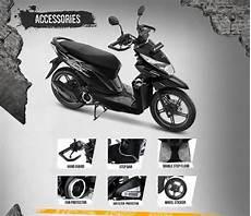 Harga Variasi Motor Beat by Harga Aksesoris Honda Beat Esp Resmi Untuk