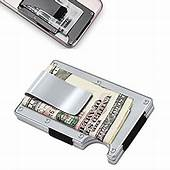 Amazoncom  Metal Wallet Credit Card Holder With RFID