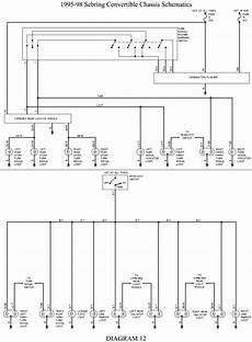 98 dodge avenger wiring diagrams repair guides