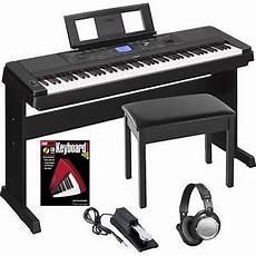 Yamaha Dgx660b 88 Weighted Key Digital Piano Keyboard