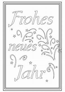 neujahr malvorlagen neujahrskarten ausdrucken und ausmalen kostenlose