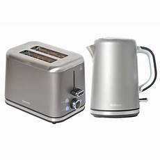 brabantia 2 slice breakfast toaster and kettle set