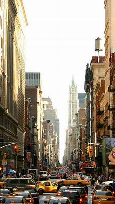 Iphone Wallpaper New York Winter by Manhattan Busy Iphone 7 Wallpaper New York