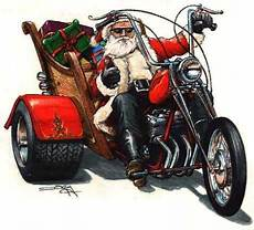 motoblogn santa rides a motorcycle christmas card collection motorcycle christmas biker art