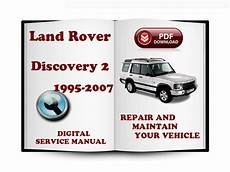 free service manuals online 2007 land rover discovery electronic valve timing land rover discovery 2 1995 2007 service repair manual tradebit