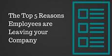 the top 5 reasons employees are leaving your company paperdirect blog