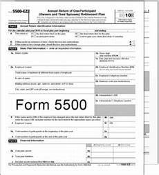 due date of filing form 5500 unchanged lsl cpas