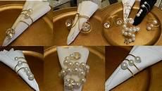 dollar tree diy diamonds and pearls napkin rings 6 diy elegant home decor wedding decor ideas