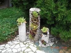 Beton Ideen Für Den Garten - diy betons 228 ule zum bepflanzen pflanzturm aus beton