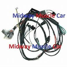 Engine Wiring Harness V8 71 Pontiac Gto Lemans T 37 Judge