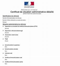 Depopass Le Nouveau Certificat De Non Gage Certificat