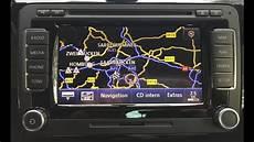 Vw Navigationssystem Rns 510 Rcd 510 Alle Funktionen