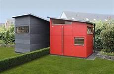 Geräteschuppen Pultdach Selber Bauen - gartenhaus aus holz gartana liefert moderne gartenh 228 user