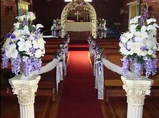 cheap wedding aisle decorations ideas l wedding decorations a budget youtube