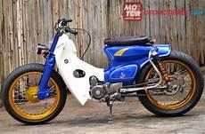 Modifikasi Honda 70 Terbaru by Foto Modifikasi Motor Honda 70 Retro Gokil Terbaru