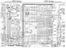 dodge coronet and charger 1973 complete wiring diagram all about wiring diagrams