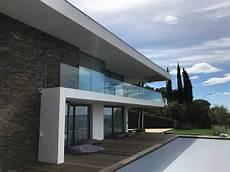 garde corps terrasse design les issambres garde corps ext 233 rieur en verre installation et r 233 novation de menuiseries pvc