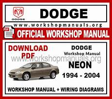 small engine repair training 2001 plymouth neon seat position control dodge neon workshop repair manual workshop manuals