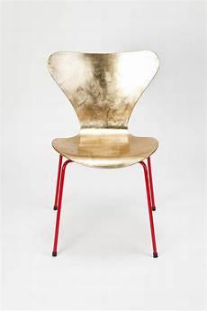 Arne Jacobsen Chair - arne jacobsen golden chair gold leaf plywood laquered