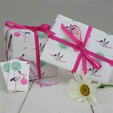 new baby gift wrap by the blue owl