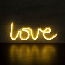 white love led neon wall light neon sign wall light