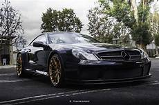 mercedes sl65 amg black series astonishes with copper