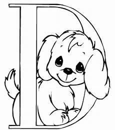 Abc Malvorlagen Ausmalbild Einfach Hunde Suche Alphabet