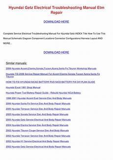 service manuals schematics 2005 hyundai elantra security system hyundai getz electrical troubleshooting manua by klausjean issuu