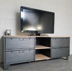 meuble tv industriel ancien vestiaire usine d 233 coration
