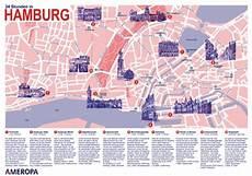 Hamburg Sehenswürdigkeiten Karte - hamburg karte tourismus kleve landkarte