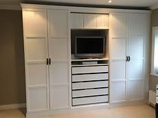 schrank ikea pax ikea pax wardrobes hacked to look built in with leather