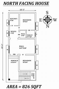 vastu plans for north facing house amazing 54 north facing house plans as per vastu shastra