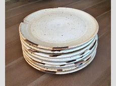 Ceramic Dinner Plate, Handmade Plate, Farmhouse Pottery