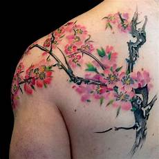 150 cherry blossom tattoos meanings ultimate guide 2020