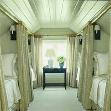 Apartment Therapy Attic Bedroom by Attic Bedroom With Privacy Curtains In 2019 Bunk Rooms