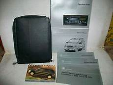 car owners manuals for sale 1998 mercedes benz cl class on board diagnostic system 1998 mercedes benz light truck ml 320 owners manual kit ebay