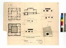 Georg Muche Walter Gropius Baugesuch F 252 R Das Haus Am