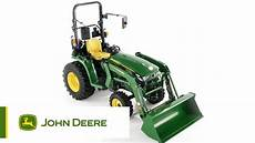 the deere 3038e compact utility tractor