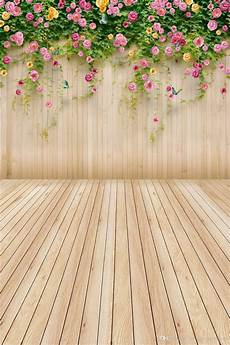 Flower Wall Floor Backdrop Photography Photo by 2020 Pink Yellow Flower Children Background
