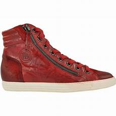 boots in rot 4213 136 im paul green shop kaufen