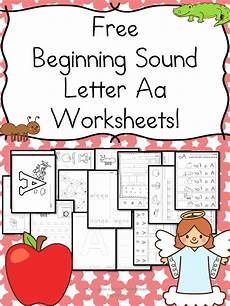 Beginning Sounds Letter A Worksheets Free And