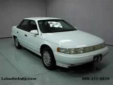 how do cars engines work 1993 mercury sable windshield wipe control used 1993 mercury sable saginaw mi youtube