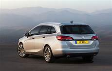 new vauxhall astra sports tourer priced from 163 16 585 in